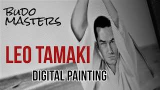 Leo Tamaki Digital Painting 👊Budo Masters Series