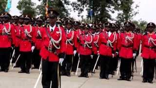 COMMISSION PARADE AT TANZANIA MILITARY ACADEMY 2013