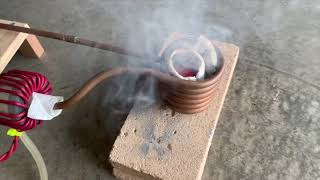 vuclip Starlite Crucible getting Killed in an Induction Heater