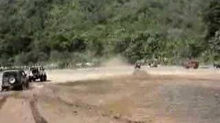Crossing Tulin River - Costa Rica 4x4 Part 3