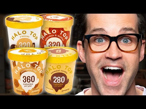 Halo Top Ice Cream Taste Test