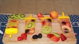 RICETTA: Ghiaccioli con pezzi di frutta! Thumbnail