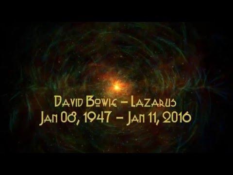 David Bowie - Lazarus Lyrics [HD]