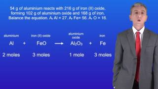 GCSE Science Chemistry (9-1) Using moles to balance equations