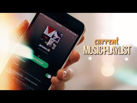 MY FAVORITE SONGS! current music playlist 2018!