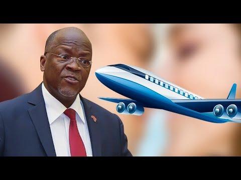 JPM Azua GUMZO, Anunua Ndege Ya Kipekee Afrika