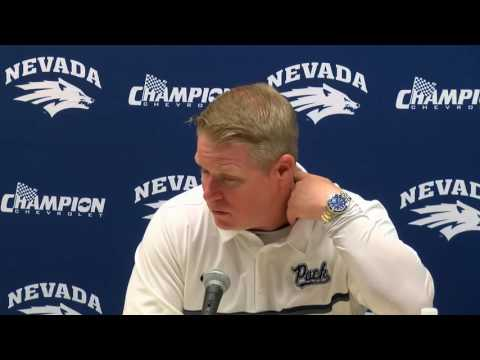 Nevada 34 Wyoming 42 Post Game Press Conference
