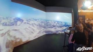 AirPano on the exhibition of Russian Geographical Society