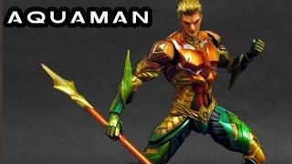 DC Comics Variant Play Arts Kai Aquaman Action Figure New In Box