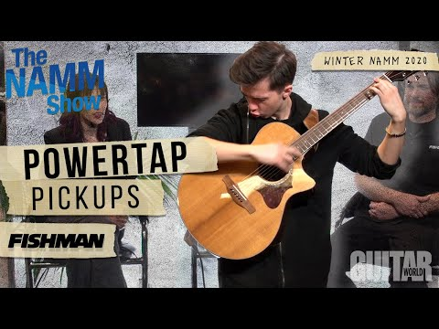 Winter NAMM 2020: Fishman Introduces Powertap Earth and Powertap Infinity
