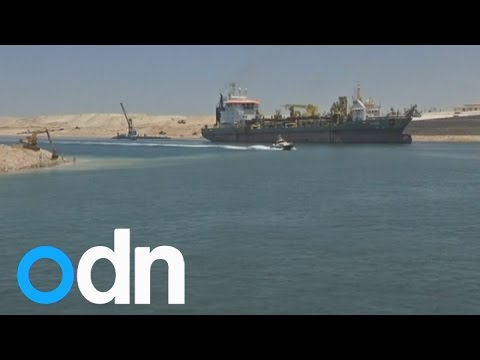 Egypt to open the New Suez Canal two years early