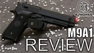 KJW M9 Airsoft Pistol Review
