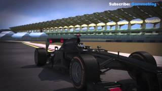 Formula One - 2013 Malaysian Grand Prix Preview - 3D Track Lap