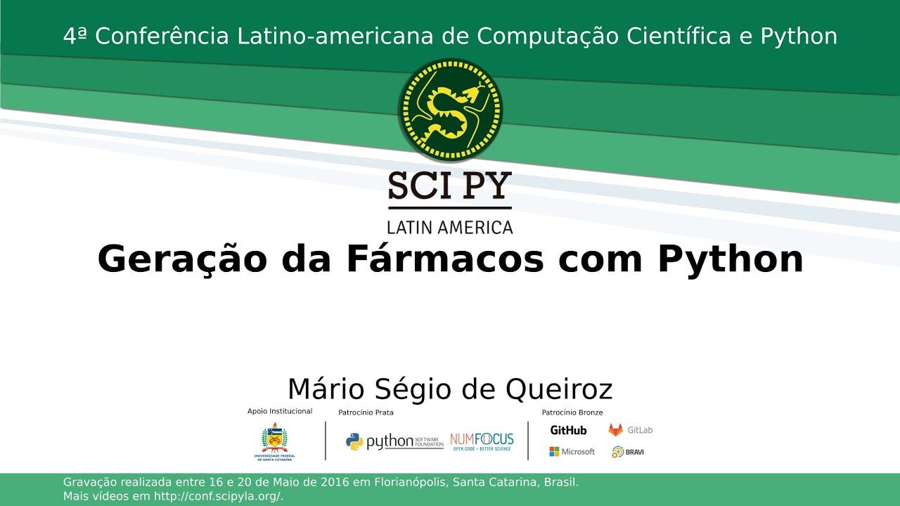 Image from Geração de Fármacos com Python
