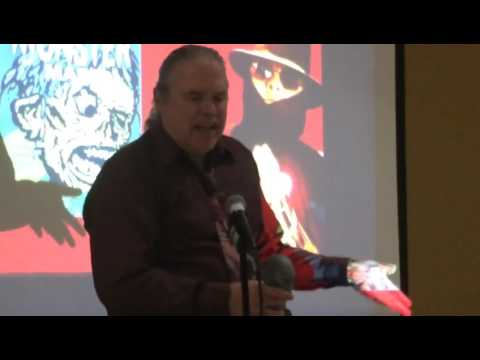 Mark Voger accepts Best Book Rondo for Monster Mash