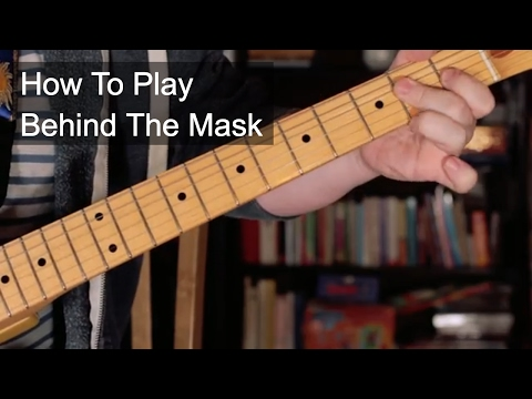 'Behind The Mask' Chords - Eric Clapton Guitar Lesson