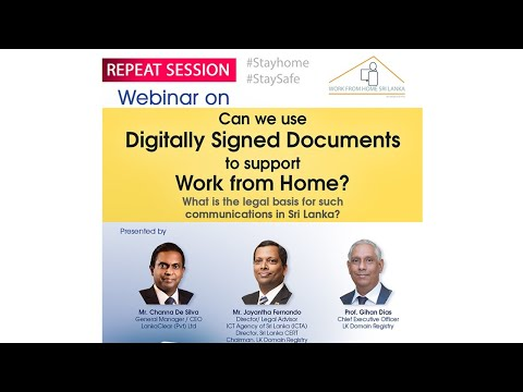 Repeat  Can We Use Digitally Signed Documents To Support Work From Home 20 April