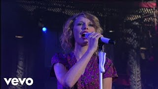 Taylor Swift - Speak Now (Live on Letterman) Video