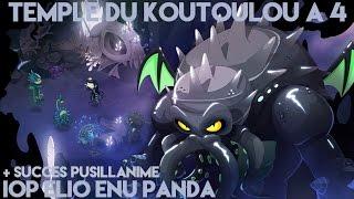 [DOFUS] Tuto : Koutoulou à 4 - Panda, Enu, Elio, Iop + Succès Pusillanime