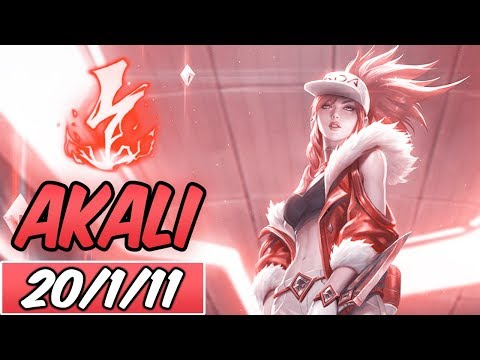 FULL AP AKALI MID | Build & Runes | Diamond Prestige K/DA Akali | League of Legends