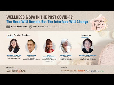 Wellness & Spa in the post COVID-19. The Need Will Remain But The Interface Will Change