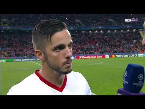 Declaraciones Sarabia 17/10/17. Sevilla FC