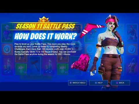 Season 11 - Battle Pass Overview - YouTube