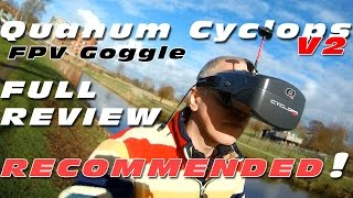 Quanum Cyclops V2 - Best entry level FPV Goggle? Full Review