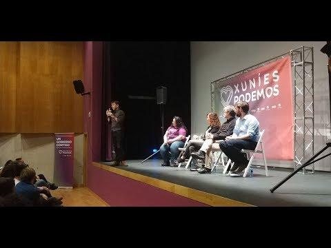 Encuentro con la Gente en La Pola Siero con Juan Carlos Monedero