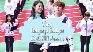 VSeol ISAC 2017 Moments | BTS' KimTaehyung (김태형) & AOA Kim Seolhyun (김설현)