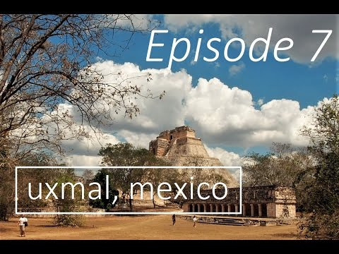 EPISODE 7 - Ancient City of Uxmal, Mexico - Motorbike Explorer