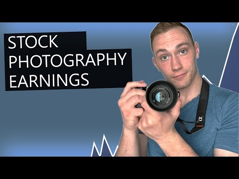 Stock Photography Earnings Experience (2019) | How Much Can