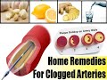 This garlic,ginger and lemon remedy cures clogged arteries - angina