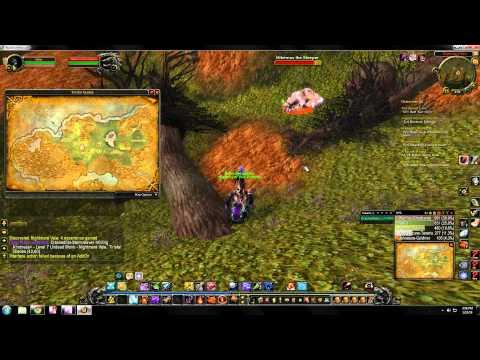 World Of Warcraft Rare Hunter Pet Locations Tirisfal Glades Youtube