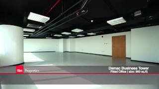 Fitted Office For Rent In Damac Business Tower, Business Bay, Dubai