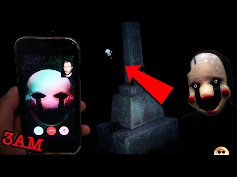 (FNAF) CALLING THE MARIONETTE PUPPET ON FACETIME AT 3AM | FIVE NIGHTS AT FREDDYS MARIONETTE FOUND!