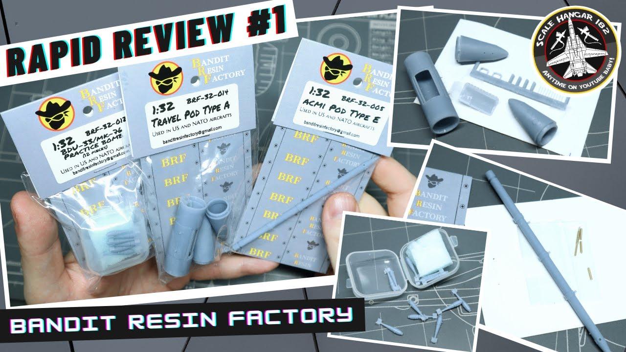 Rapid Review part 1 - Bandit resin factory