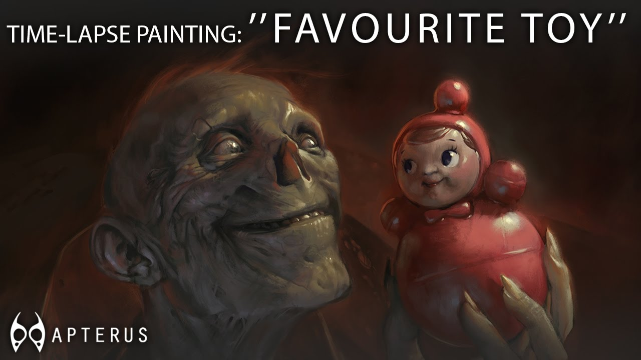 Speed painting: ''Favourite toy''