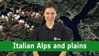 Earth from Space: Italian Alps and plains
