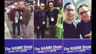 NAMM 18 - Manny Pedregon - NAMM Show - Tama Drums, Remo, Ahead Drumsticks & more.