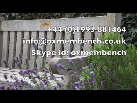 Oxford Memorial Benches - Company introduction