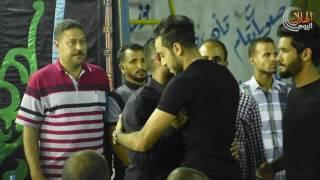 نجوم الرياضة فى عزاء شقيق حسام عاشور