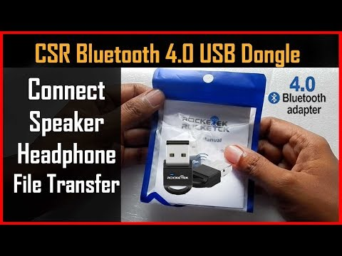 Rocketek CSR Bluetooth 4 0 Dongle Review.