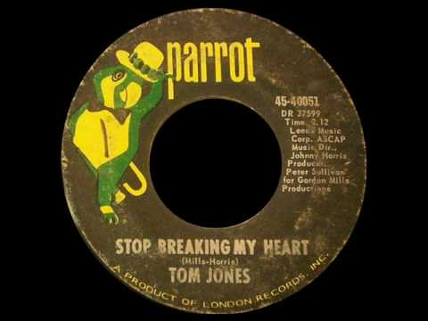 Tom Jones - Stop Breaking My Heart