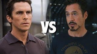 Bruce Wayne Vs Tony Stark