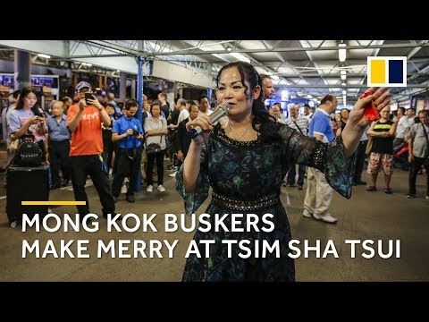 Mong Kok performers move to Tsim Sha Tsui