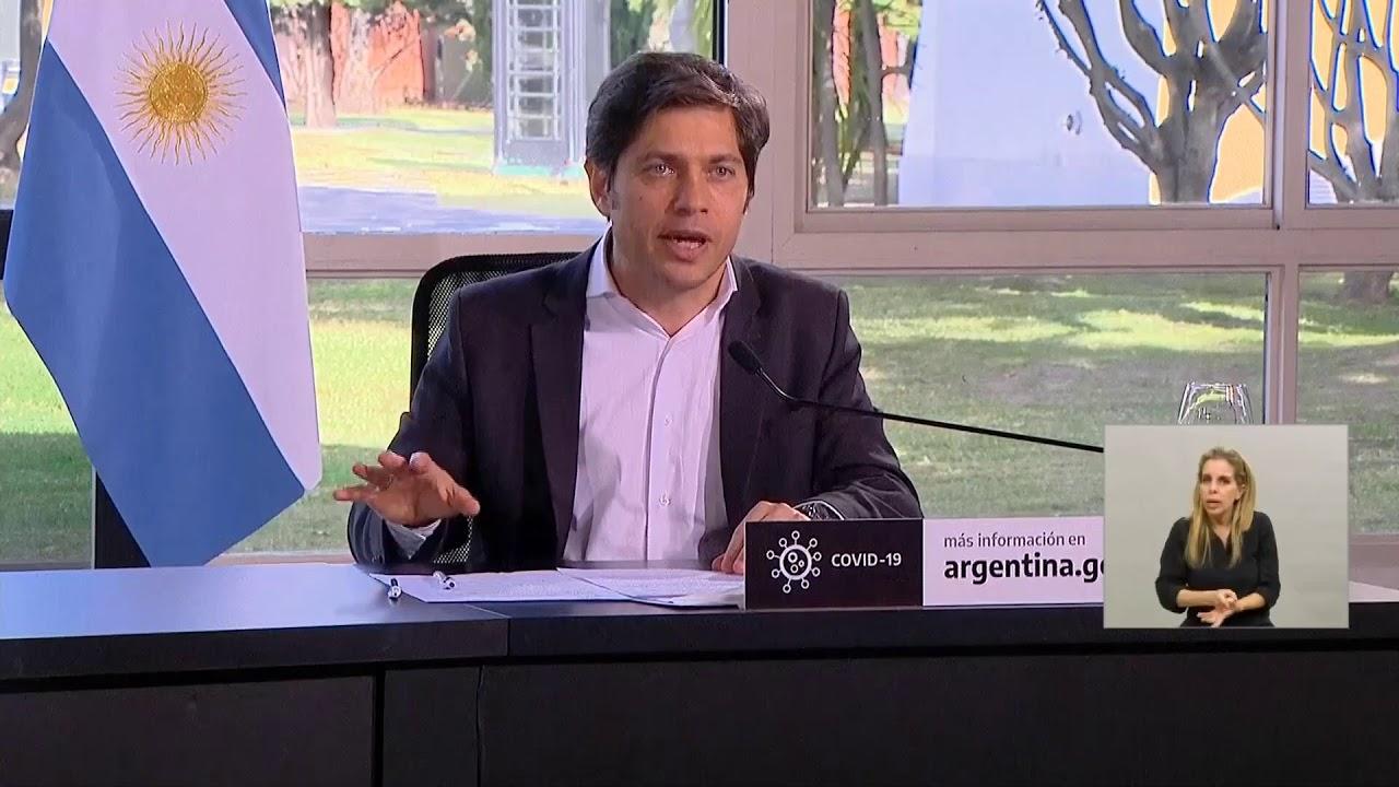 COVID-19 | Anuncio de Alberto Fernández, Axel Kicillof y Horacio Rodríguez Larreta desde Olivos