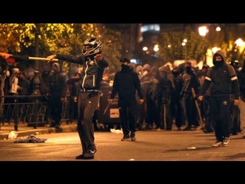 Clashes at Athens march demanding 'Bread, Education, Freedom'