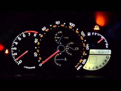 Lexus IS 300 LED Gauge Lights