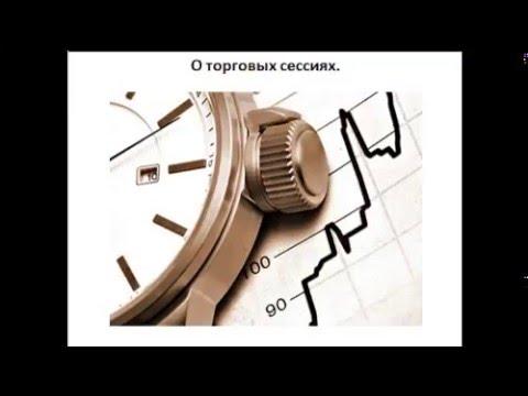 Торговые сессии Форекс время индикатор
